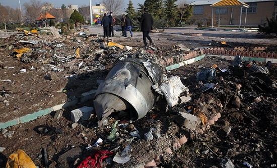 إيران: خطأ بضبط الرادار أدى لإسقاط الطائرة الأوكرانية