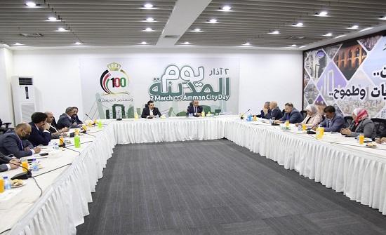 كتلة المستقبل النيابية تلتقي رئيس لجنة أمانة عمان صور