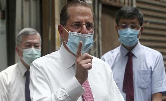 وزير الصحة الأميركي يشكك في اللقاح الروسي المضاد لكورونا