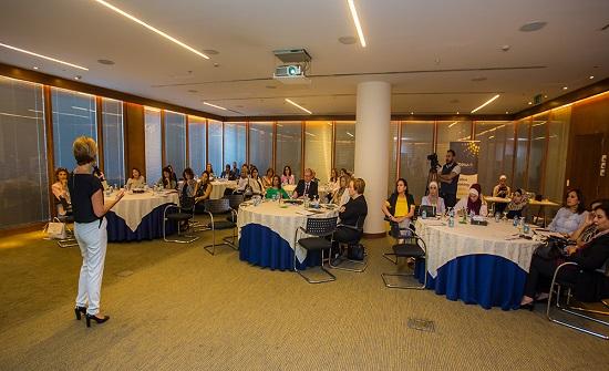 صاحبات الاعمال تعقد اولى اجتماعاتها لدعم الفرص الاقتصادية للمراة