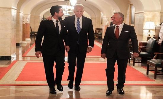 ولي العهد : الزيارة تؤكد عمق العلاقات الراسخة مع الولايات المتحدة