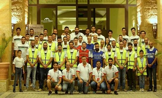 350 متطوعا استعدادا لرالي باها الأردن