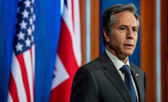 بلينكن: حل الدولتين السبيل الوحيد لإحلال السلام