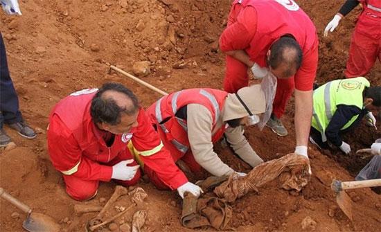 """""""العدل"""" الليبية تطالب بدعم أوروبي في ملف المقابر الجماعية"""