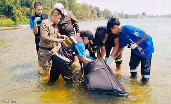 تايلاند: تفاصيل مروعة لمقتل زوجين صينين بعد وضعهما في «حقيبة»