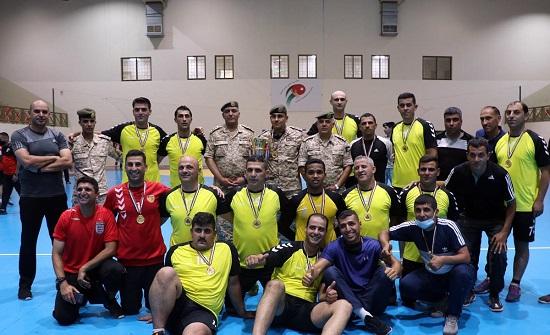 اختتام فعاليات بطولة القوات المسلحة لكرة اليد