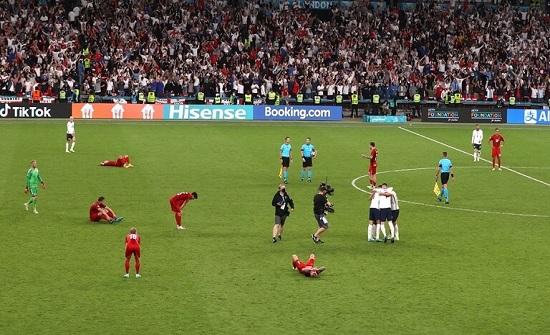 إنجلترا تبلغ نهائي كأس أمم أوروبا لأول مرة في تاريخها .. بالفيديو