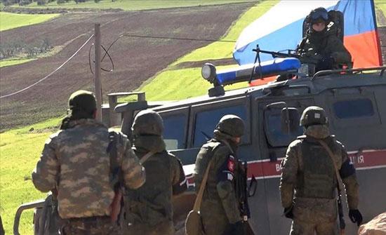 """""""الدفاع الروسية"""": نفذنا أول دورية شمال سوريا"""