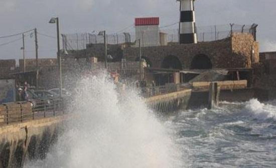 اغلاق ميناءي الاسكندرية والدخيلة بمصر بسبب الاحوال الجوية