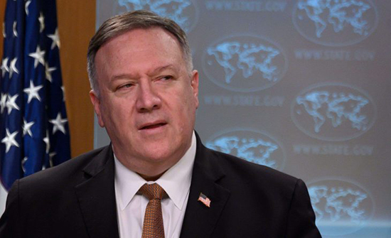 بومبيو: الإخفاق في تمديد حظر السلاح على إيران خطأ جسيم