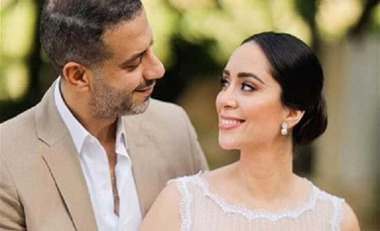 عقد قران محمد فراج و بسنت شوقي بحضور كوكبة من النجوم .. شاهد