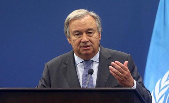 غوتيريش يطالب الأسرة الدولية بتقديم دعم قوي لمؤتمر برلين حول ليبيا