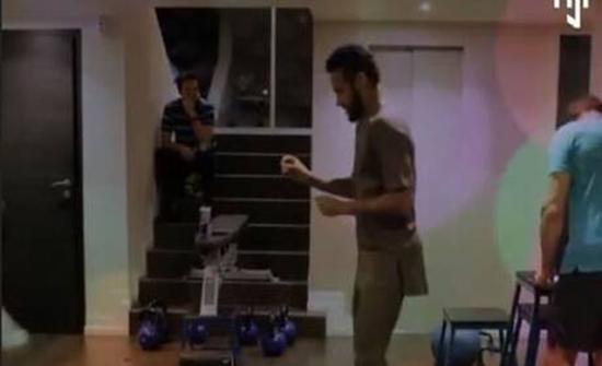 بالفيديو : نيمار يقاتل من أجل العودة للملاعب بالرقص