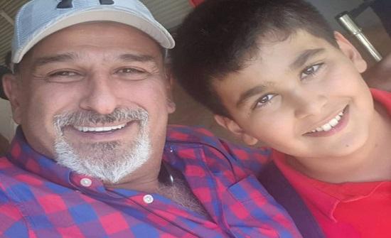 """جمال سليمان ينشر صورة مع ابنه الوحيد: """"ما شفنا بعض من شهر"""""""