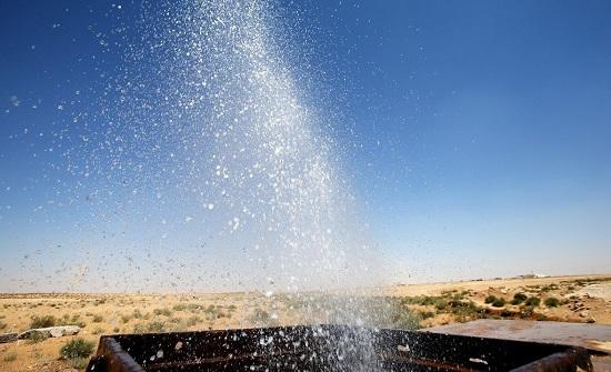 مياه البادية الشمالية تزيد ساعات ضخ المياه