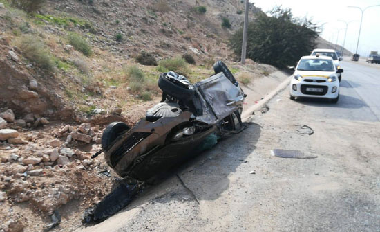 وفاة و 9 إصابات اثر حادث سير في جرش