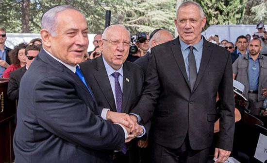 مونيتور: توافق في مواقف نتنياهو وغانتس حول القضايا الكبرى