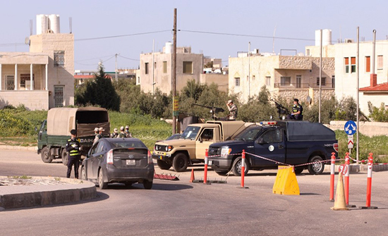 جرش : عزل بلدة مرصع اسبوعا لارتفاع اصابات كورونا فيها