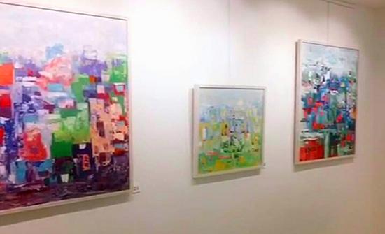 افتتاح معرض حروف في جاليري جودار