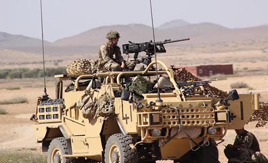 الجيش المغربي يرد بحزم على استفزازات للبوليساريو ويدمر آلية على طول الجدار الأمني