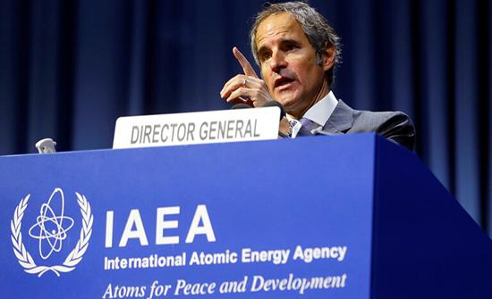 الطاقة الذرية: إيران أخطرتنا بوقف تنفيذ الإجراءات الطوعية بموجب الاتفاق النووي