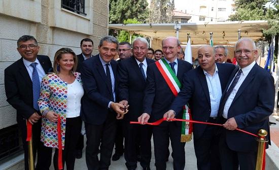صور : السفير الايطالي يفتتح المركز الاردني الايطالي للسلامة العامة والتأهيل والتدريب