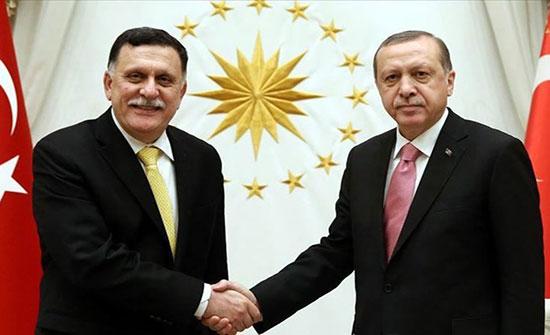 السراج في إسطنبول ويبحث مع أردوغان آخر التطورات في ليبيا