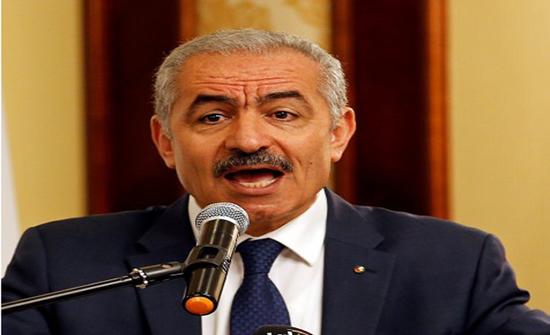 """رئيس الحكومة الفلسطينية : وصلتنا ورقة من """"إسرائيل"""" تتعهد فيها بالالتزام بالاتفاقات معنا"""