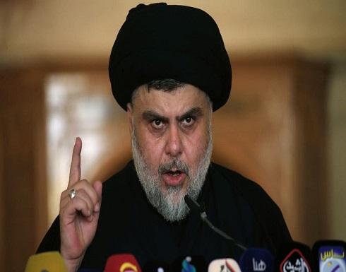 مقتدى الصدر يطالب باستقالة الحكومة العراقية