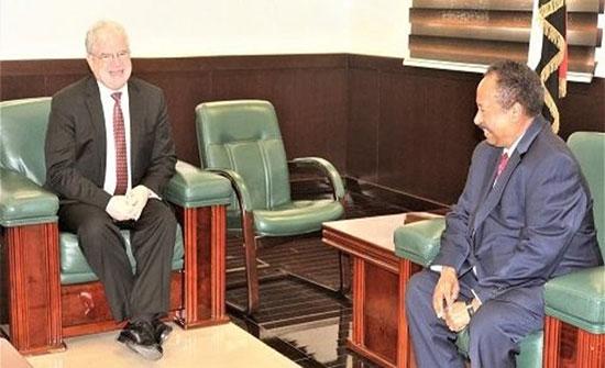 لقاء سوداني أميركي.. وواشنطن مستعدة لتطوير الشراكة