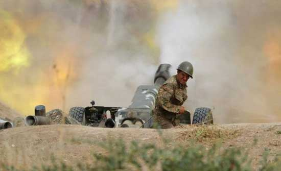 تبادل لإطلاق النار بين الجيش الارميني والاذري وسقوط جرحى بين الطرفين