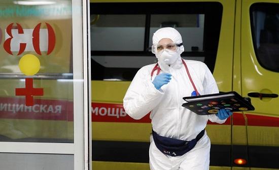 روسيا : 134 وفاة و5905 إصابات جديدة بفيروس كورونا