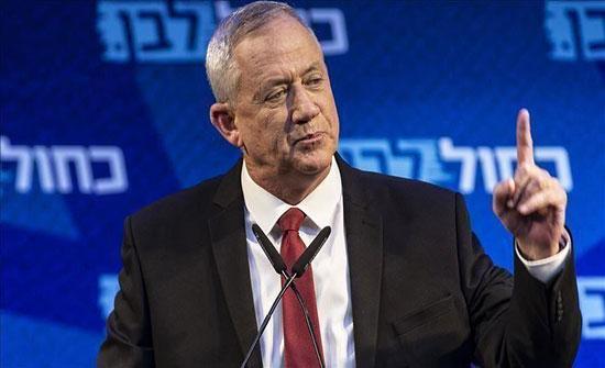 """إسرائيل.. غانتس يعتزم تقديم """"تنازلات"""" تجنبًا لانتخابات ثالثة"""
