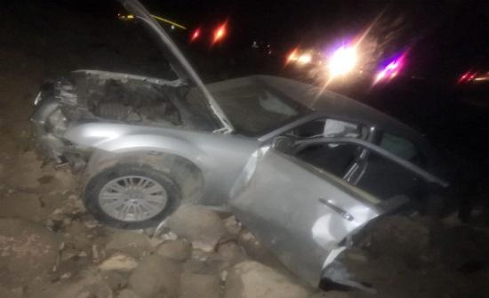 4 اصابات اثر حادث تصادم في زيزيا