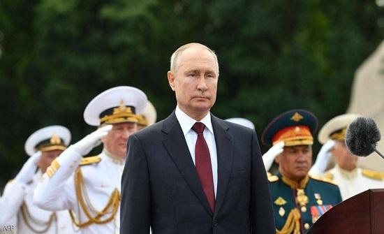 """بوتن يشيد بالاسطول الروسي """"المدمر"""""""