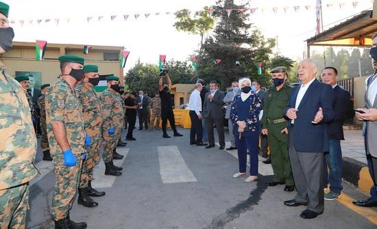 العيسوي يرعى إطلاق حملة توزيع أضاحي الملك عبدالله الثاني لإقليم الشمال والجنوب