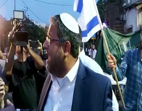 توتر في القدس وصول المتطرف بن غفير إلى العامود