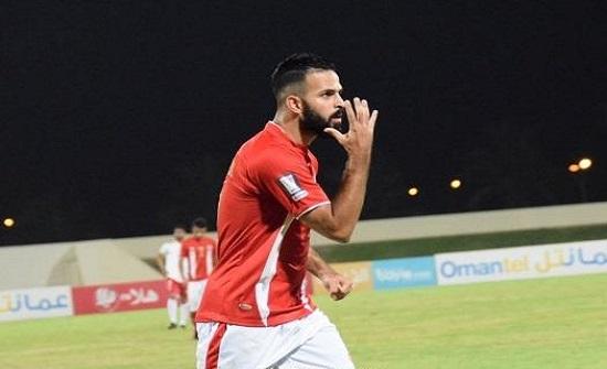 الأردني القرا أفضل محترف في الدوري العُماني