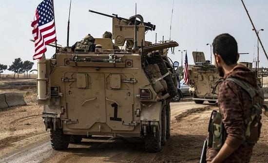 نفط سوريا بقبضة الأميركان.. 5 مدرّعات تدخل حقل الشدادي