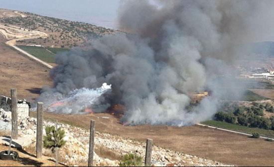 بالفيديو :قتلى وجرحى في تبادل لإطلاق القذائف على الحدود اللبنانية الإسرائيلية - مباشر