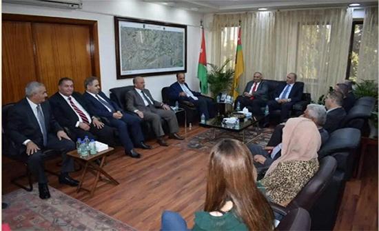 الجامعة الأردنية توقع مذكرة تفاهم مع إعمار عجلون