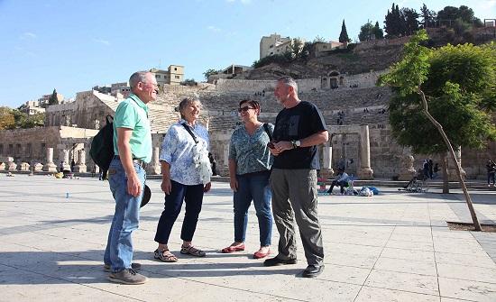 سياح : الاردن بيئة سياحية آمنة وجاذبة وافضل الوجهات السياحية العالمية