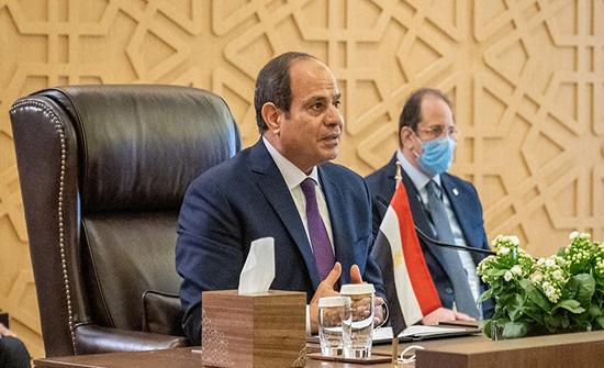السيسي: لا مصالحة مع من يريد تشريد شعب مصر