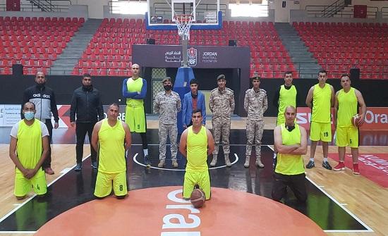انطلاق منافسات دوري القوات المسلحة لكرة السلة