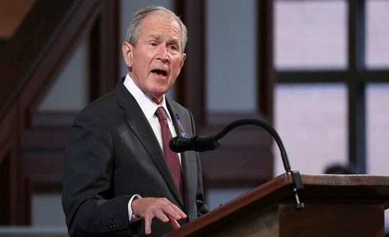 بوش يفجر مفاجأة: لم أصوت لترمب أو بايدن عام 2020