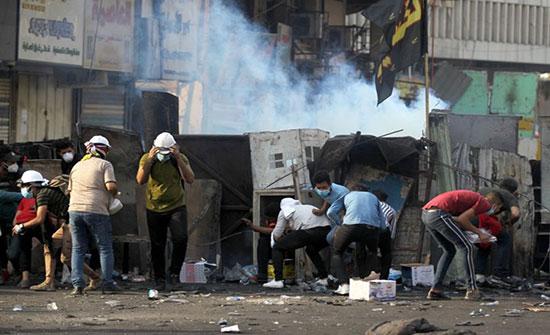 بالفيديو : احتجاجات العراق.. قتلى وإصابات في بغداد ودعوات لمليونية