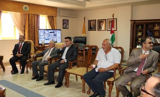 تبادل التهاني بمناسبة عيد الأضحى في جامعة الحسين بن طلال