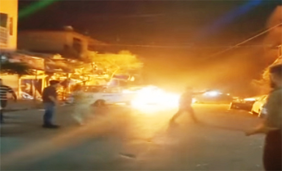 قتلى وجرحى بانفجار دراجة مفخخة في مدينة إدلب السورية .. بالفيديو