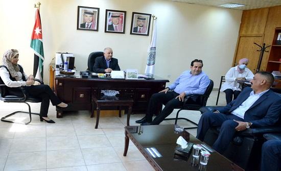 الطفيلة التقنية تبحث التعاون مع هيئة شباب كلنا الأردن