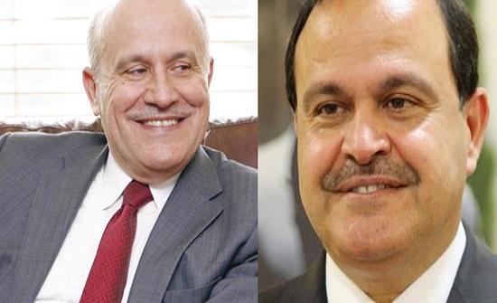 أيمن وحسين هزاع المجالي يصدران بيانا مفاجئا.. والأول يقدم استقالته من الرأي